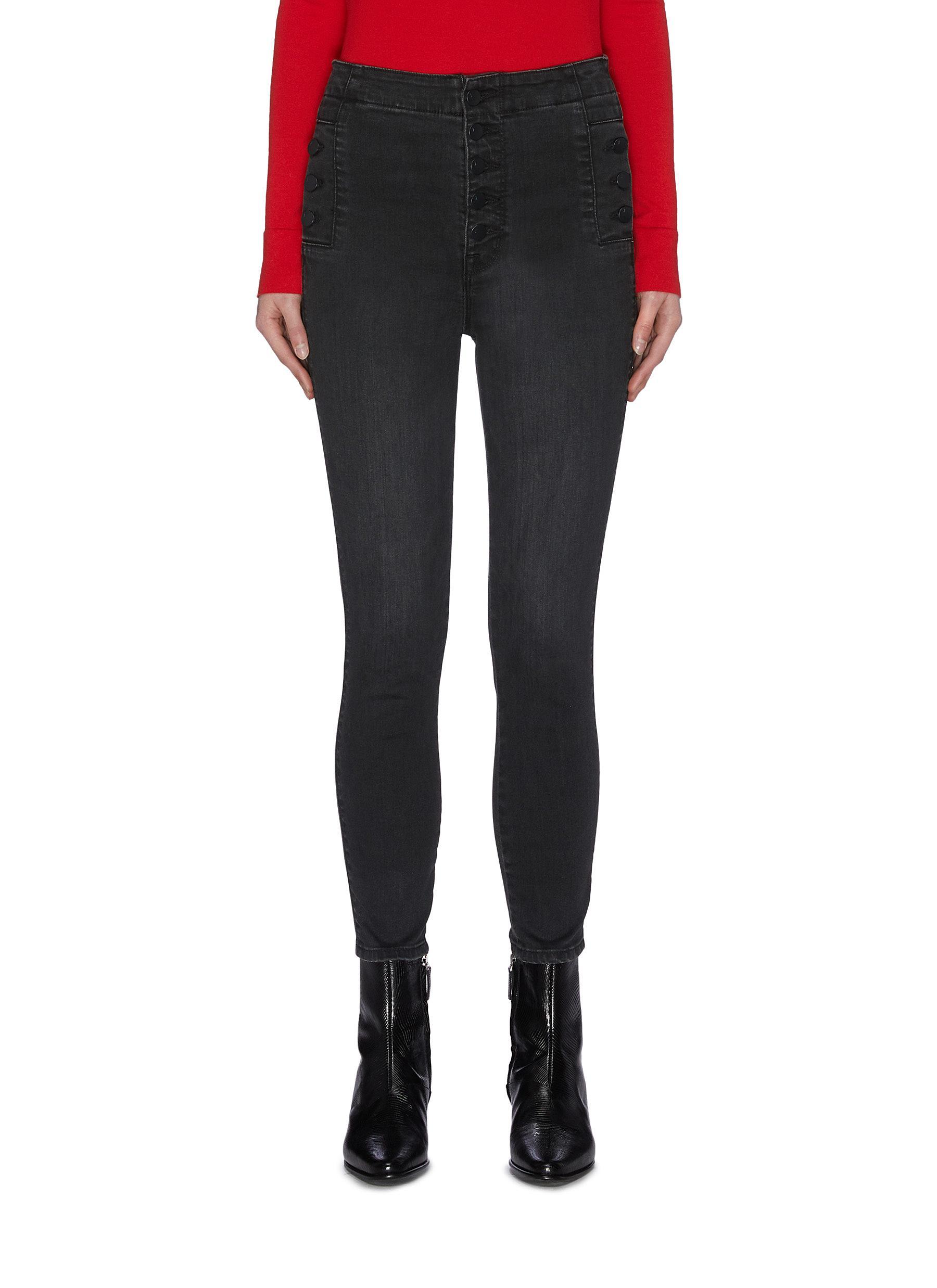shop J Brand 'Natasha' cropped skinny jeans online