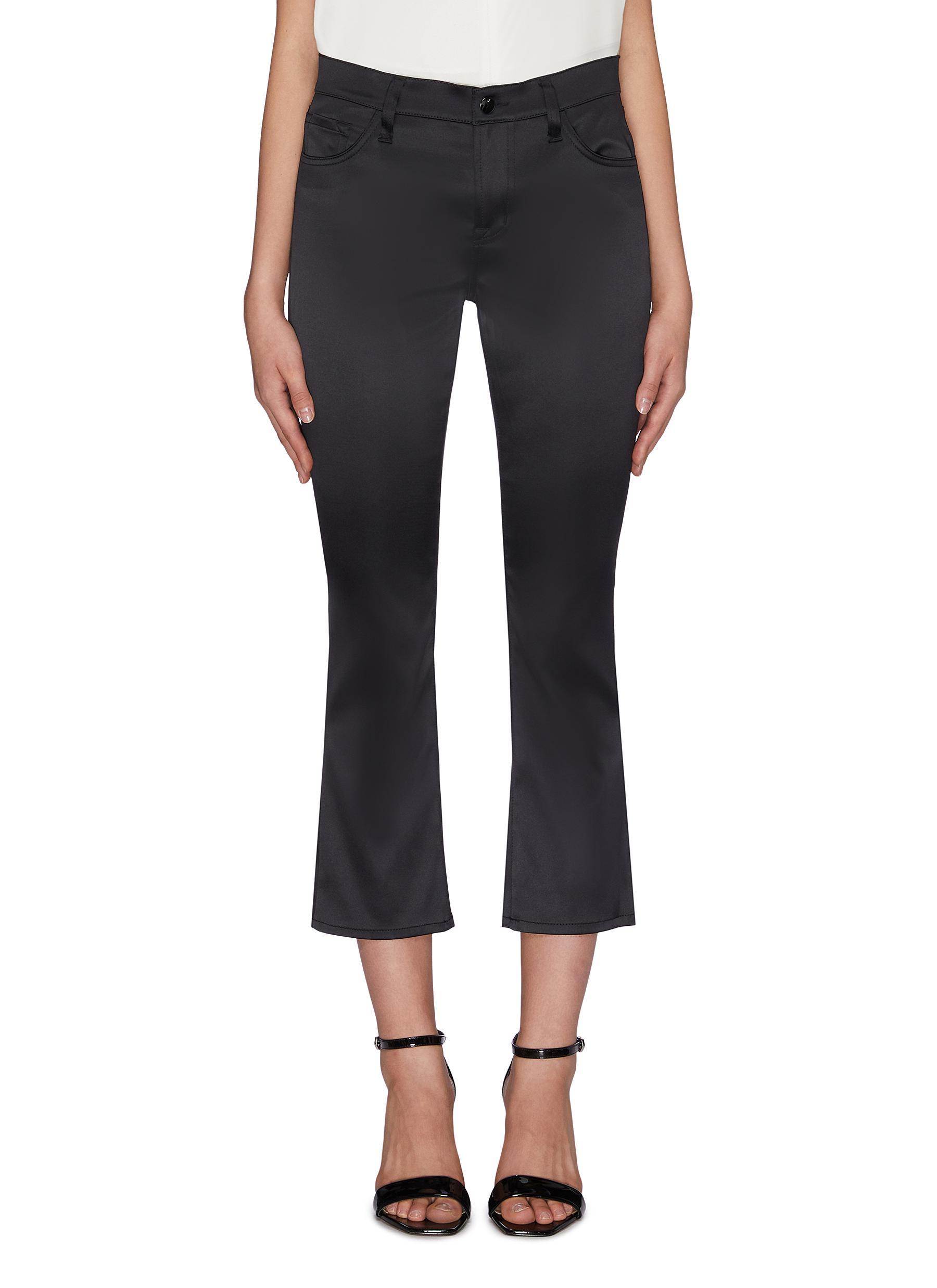 shop J Brand 'Selena' Satin cropped pants online