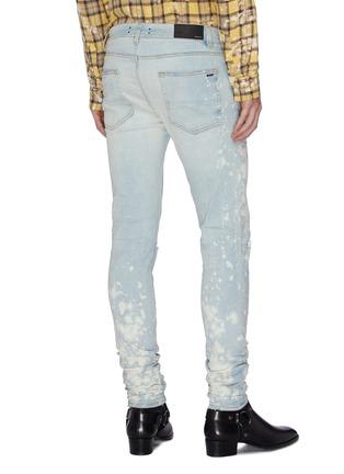 Back View - Click To Enlarge - AMIRI - 'Thrasher Minus' splattered acid wash jeans