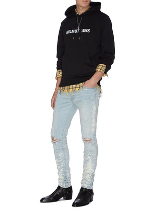 Figure View - Click To Enlarge - AMIRI - 'Thrasher Minus' splattered acid wash jeans