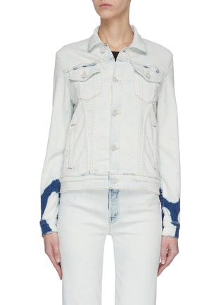Main View - Click To Enlarge - MOTHER - 'The Pocket Bruiser' Tie-dye Jacket