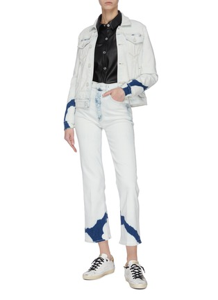 Figure View - Click To Enlarge - MOTHER - 'The Pocket Bruiser' Tie-dye Jacket