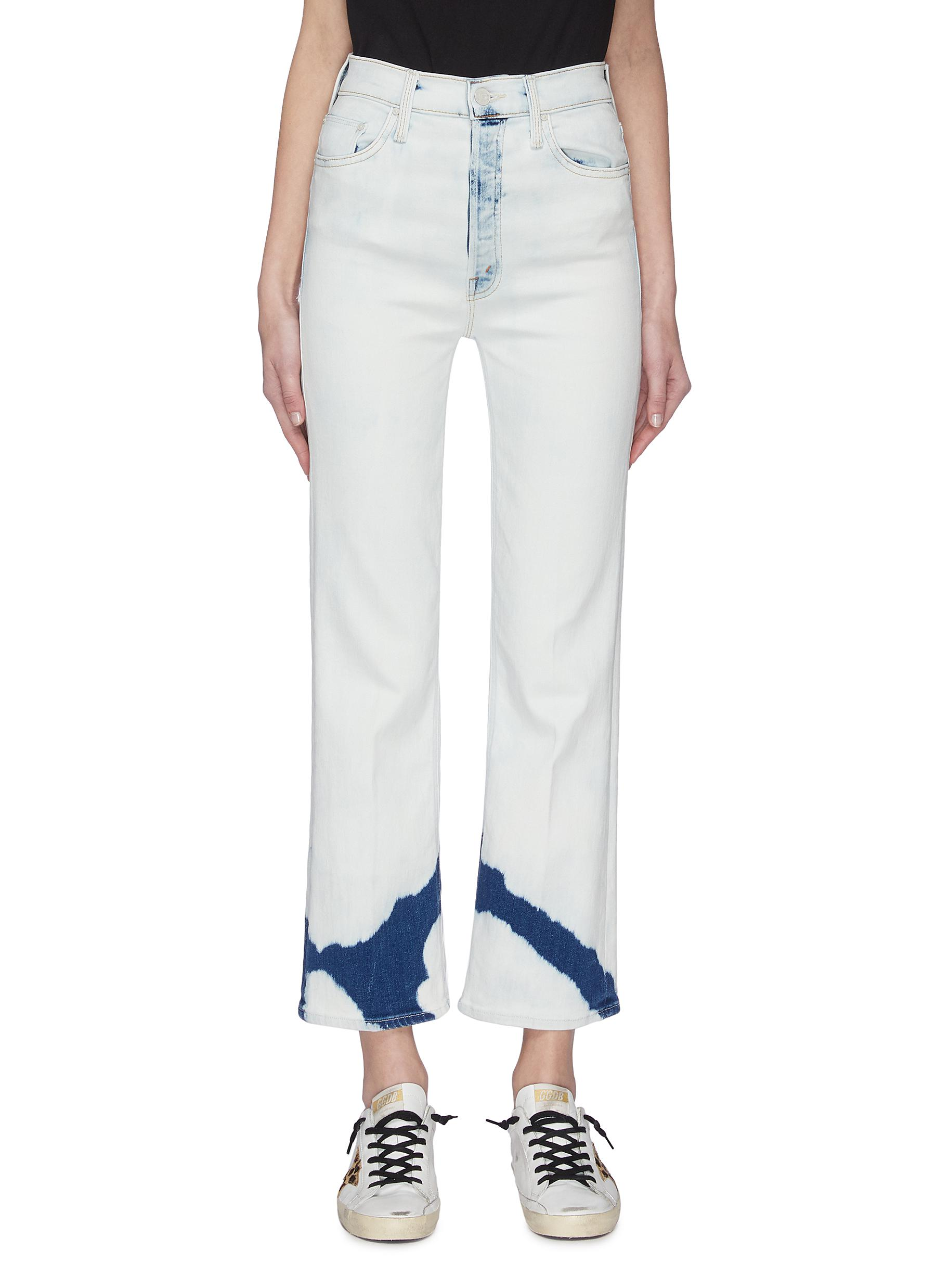 shop Mother 'The Tripper Ankle' Tie-dye Jeans online