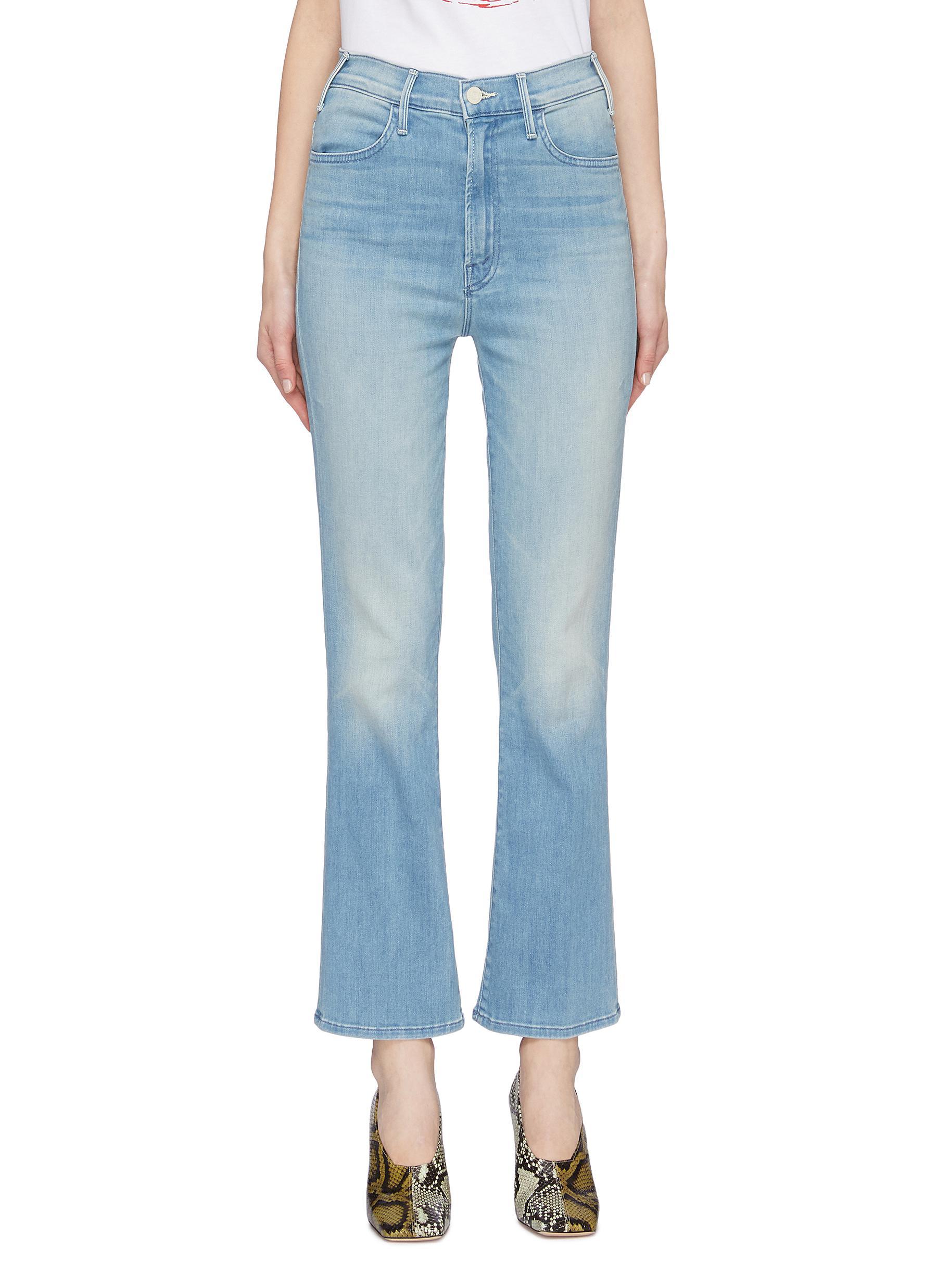 shop Mother 'The Hustler' flare jeans online