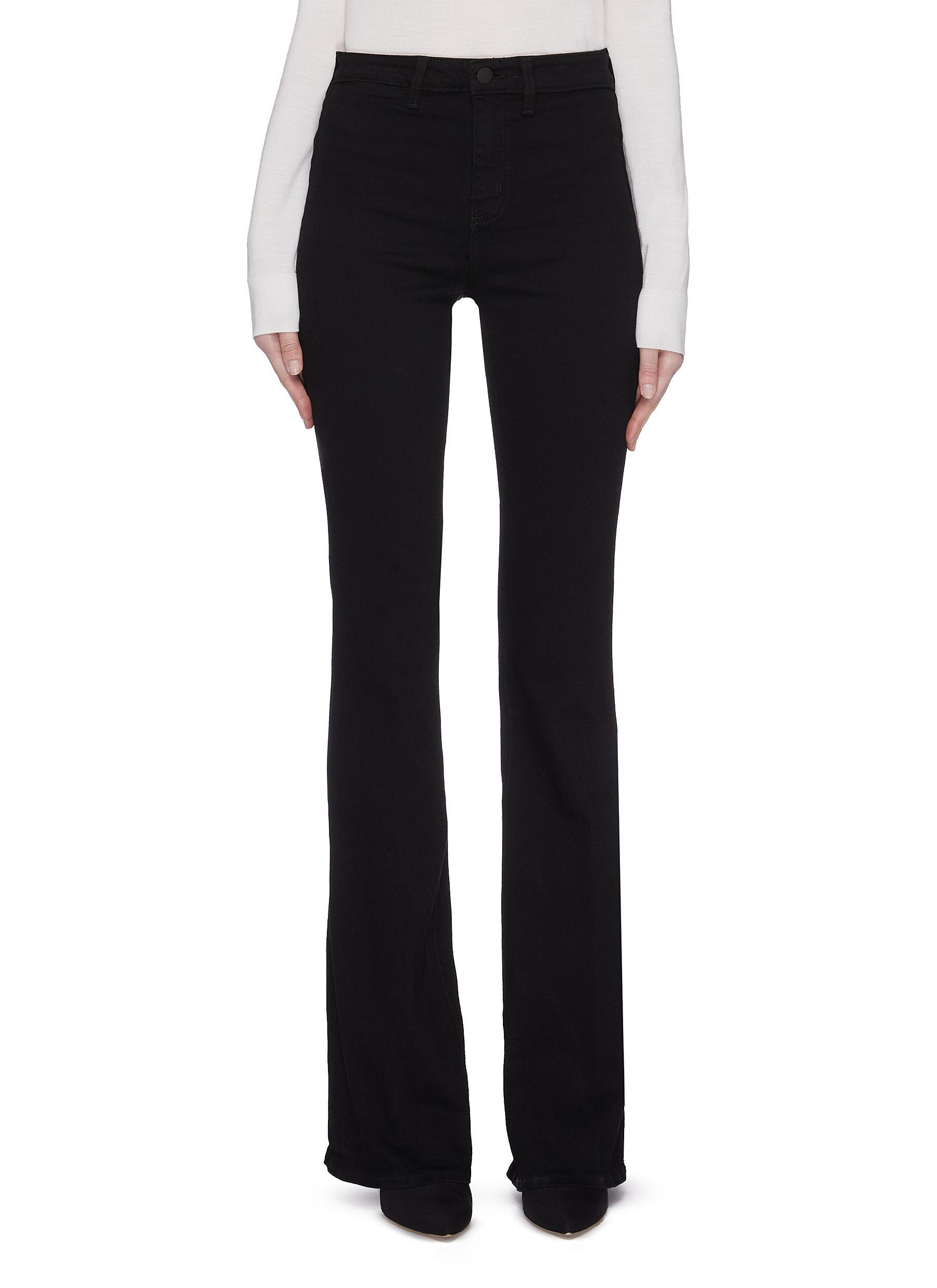 shop L'Agence 'Joplin' flare jeans online
