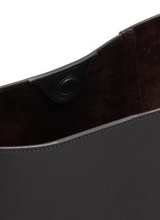 Detail View - Click To Enlarge - LANVIN - Hook' asymmetrical bucket bag