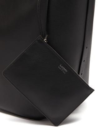 - LANVIN - Hook' asymmetrical bucket bag