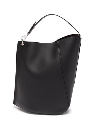 Main View - Click To Enlarge - LANVIN - Hook' asymmetrical bucket bag
