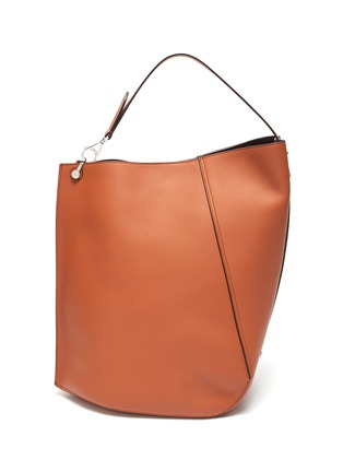 Main View - Click To Enlarge - LANVIN - Hook' asymmetrical bucket bag