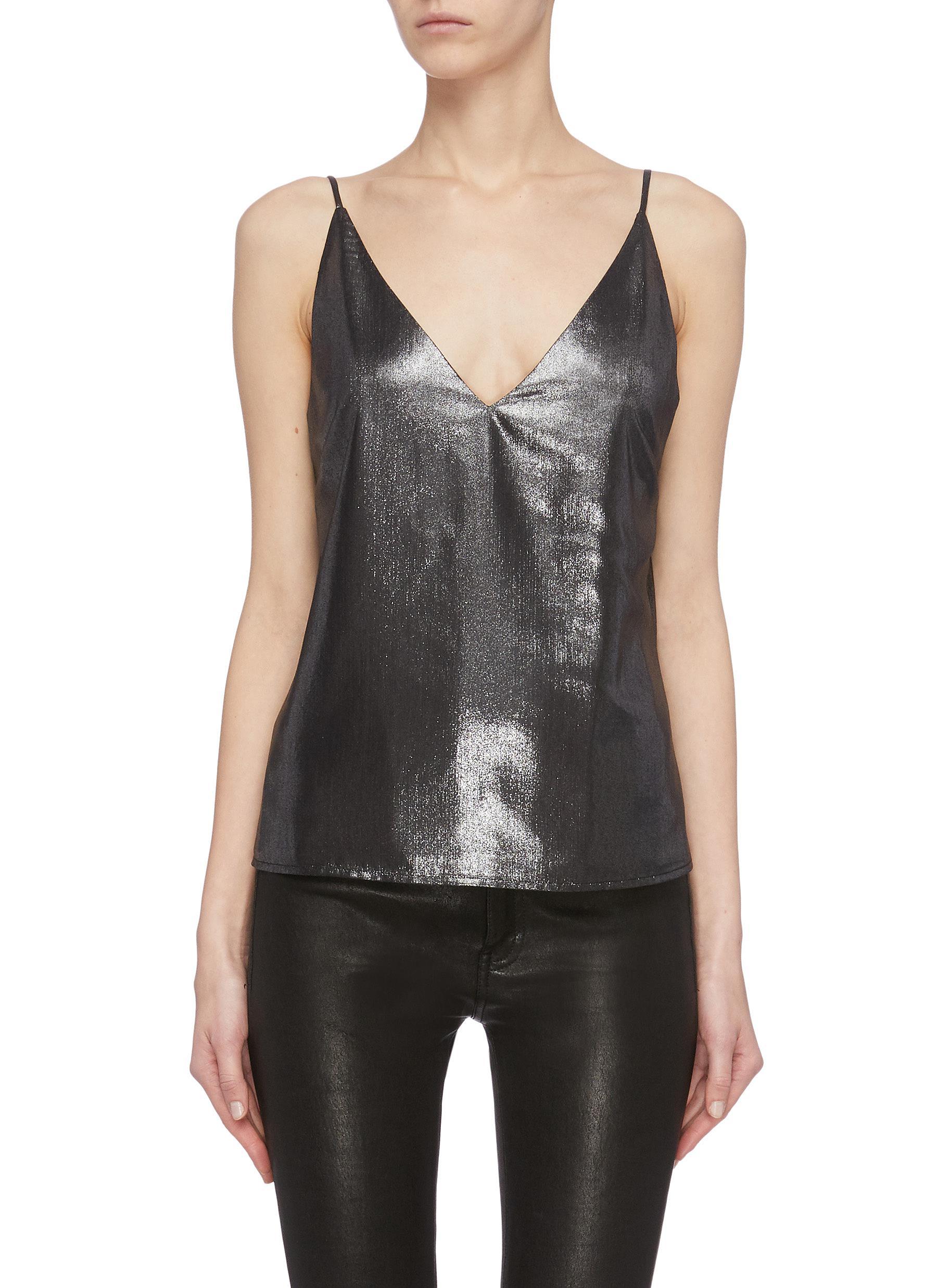 shop L'Agence 'Gabriella' V-neck cami top online