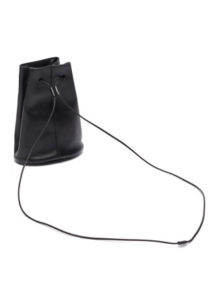 Detail View - Click To Enlarge - JIL SANDER - Climb drawstring bucket crossbody bag
