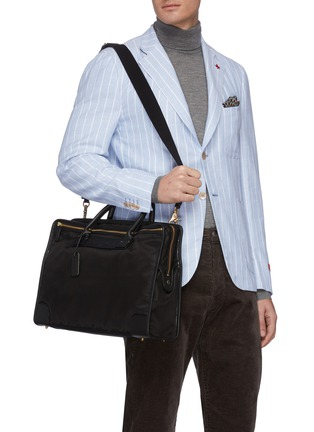 Front View - Click To Enlarge - FELISI - Nylon briefcase