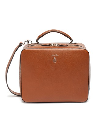 Main View - Click To Enlarge - MARK CROSS - 'Baker Messenger' bag in leather