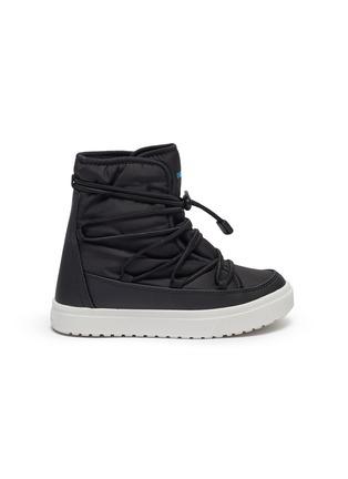 Main View - Click To Enlarge - NATIVE - 'Chamonix' kids nylon snow boots