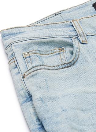 - AMIRI - 'MX1' tie dye underlay skinny jeans