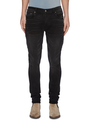 Main View - Click To Enlarge - AMIRI - 'Half Track' Jeans