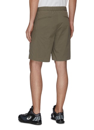 Back View - Click To Enlarge - ATTACHMENT - Pleat Stretch Shorts