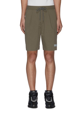 Main View - Click To Enlarge - ATTACHMENT - Pleat Stretch Shorts