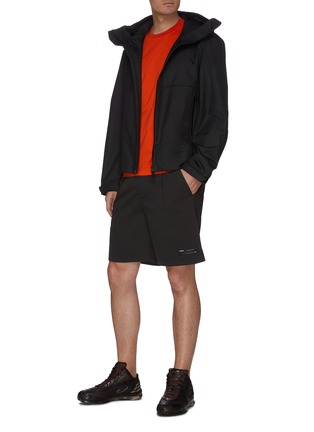 Figure View - Click To Enlarge - ATTACHMENT - Pleat Stretch Shorts