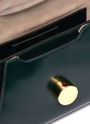 Detail View - Click To Enlarge - JW ANDERSON - 'Midi Keyts' leather crossbody bag