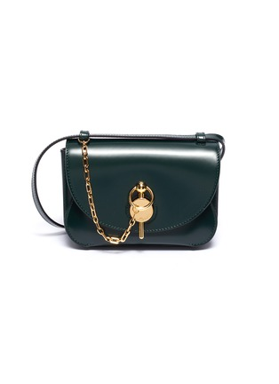 Main View - Click To Enlarge - JW ANDERSON - 'Midi Keyts' leather crossbody bag