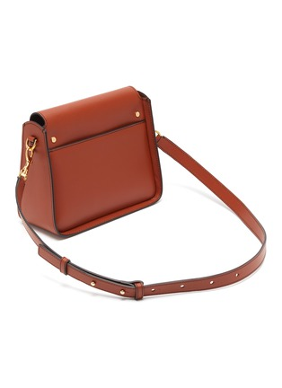 Detail View - Click To Enlarge - JW ANDERSON - Logo plate leather crossbody bag
