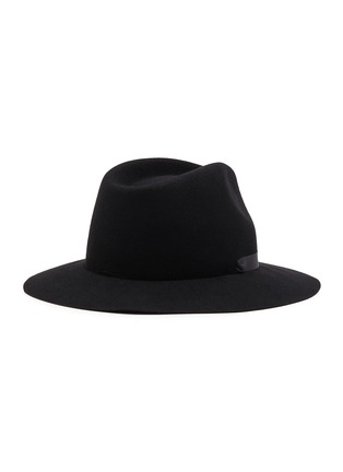 Figure View - Click To Enlarge - MAISON MICHEL - 'Rico' faux pearl string felt hat