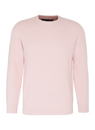 Main View - Click To Enlarge - DREYDEN - 'Continental' rib knit cashmere sweater