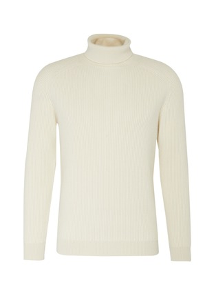 Main View - Click To Enlarge - DREYDEN - 'Cecil' unisex turtleneck cashmere sweater
