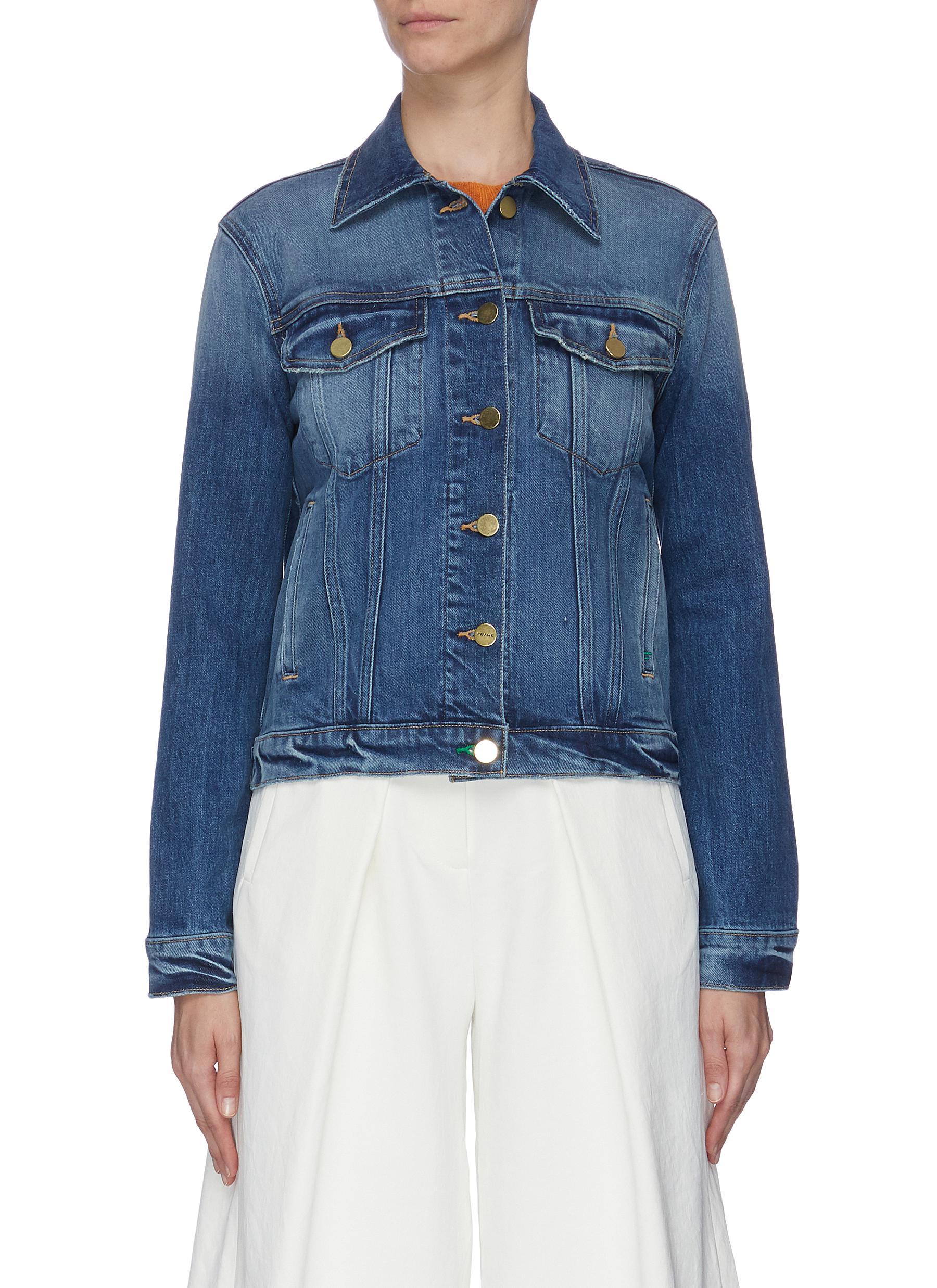shop Frame Denim 'Le Vintage' denim jacket online