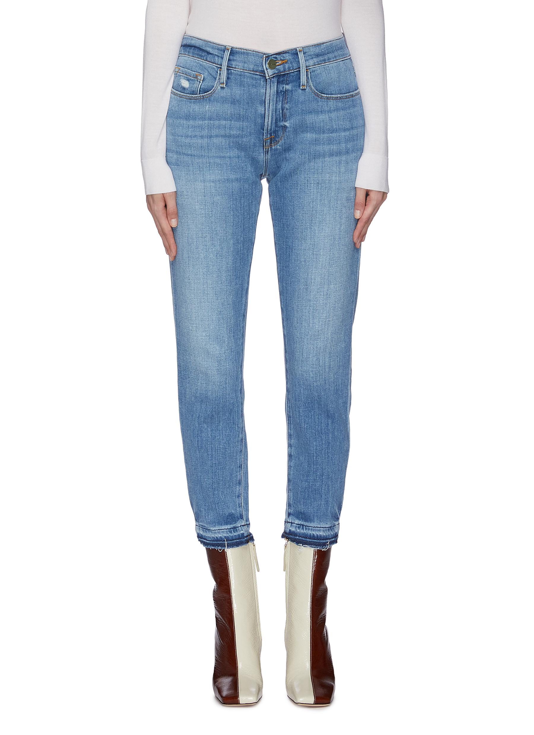 Buy Frame Denim Jeans 'Le Garcon' cropped jeans