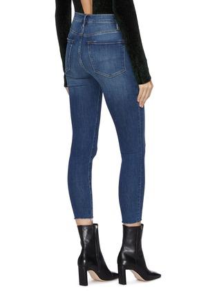 Back View - Click To Enlarge - FRAME DENIM - 'Ali Cigarette' high rise jeans