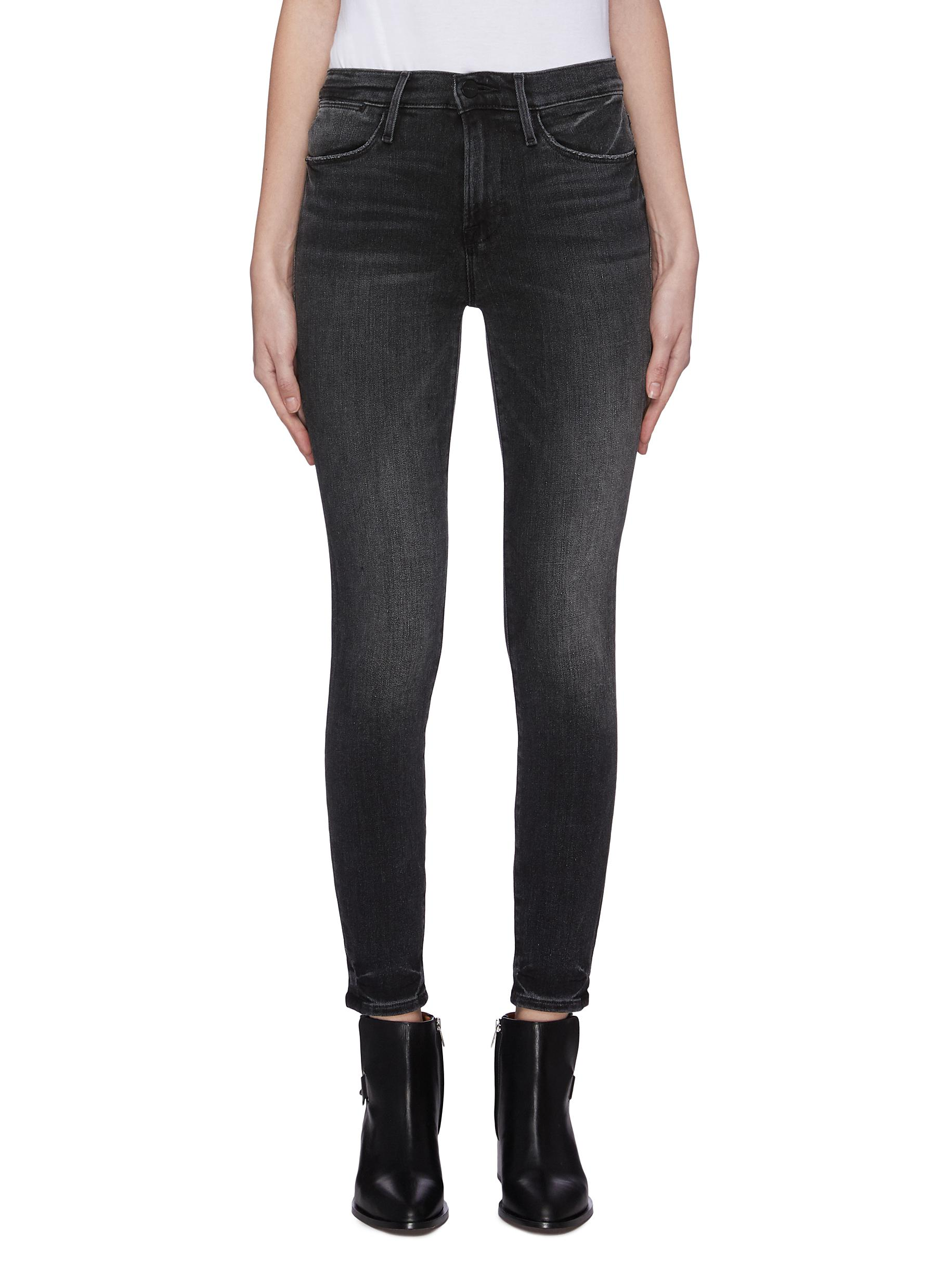 Buy Frame Denim Jeans 'Le High Skinny Hr' released hem jeans