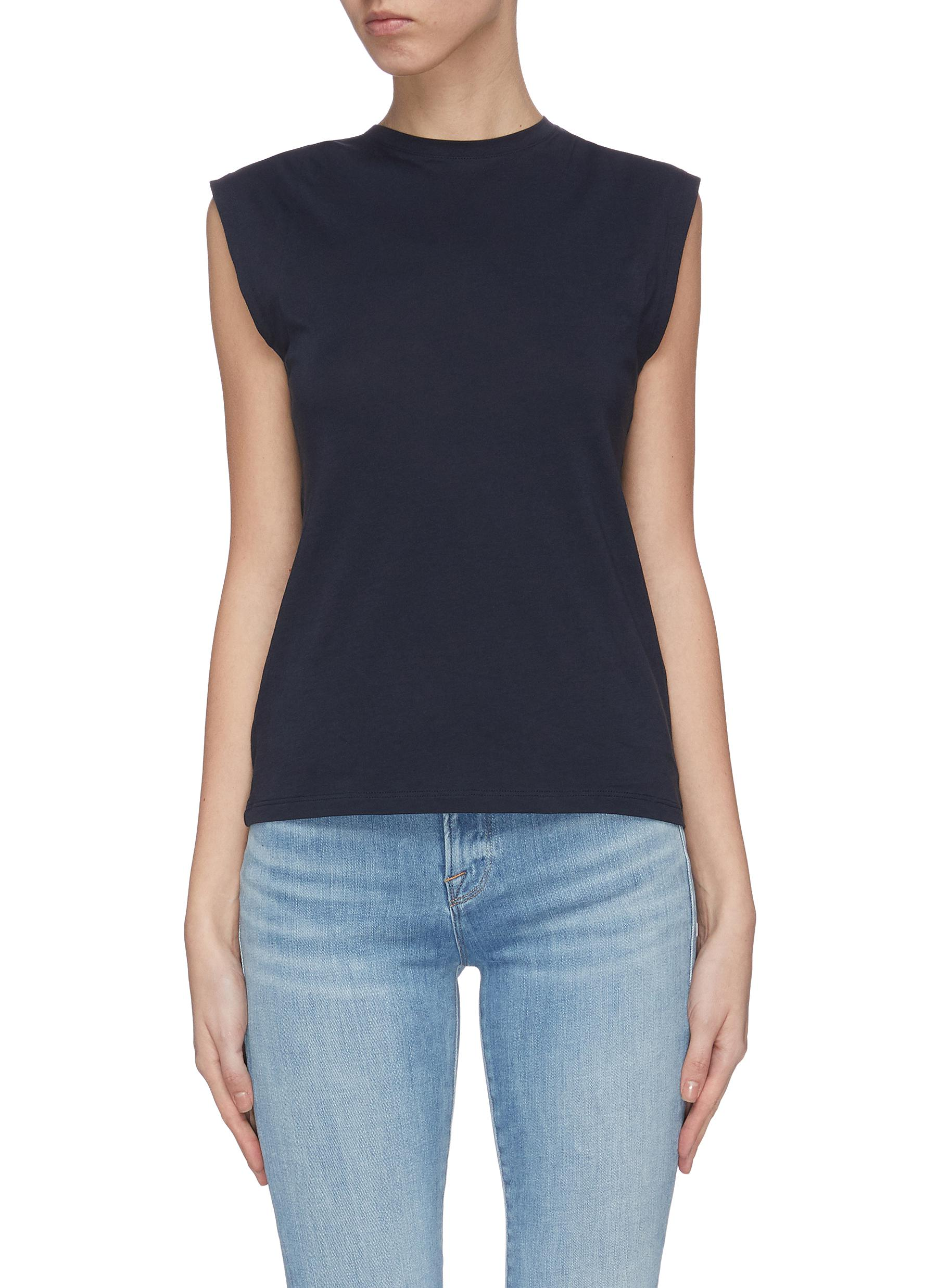 Buy Frame Denim Tops 'Le Mid Rise' muscle T-shirt