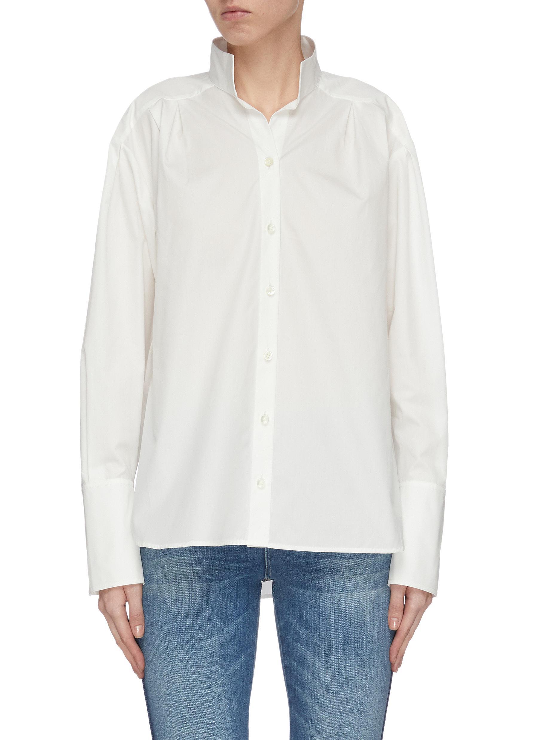 shop Frame Denim Clean collar tailored shirt online