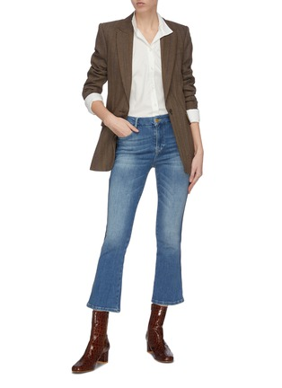 Figure View - Click To Enlarge - FRAME DENIM - Clean collar tailored shirt
