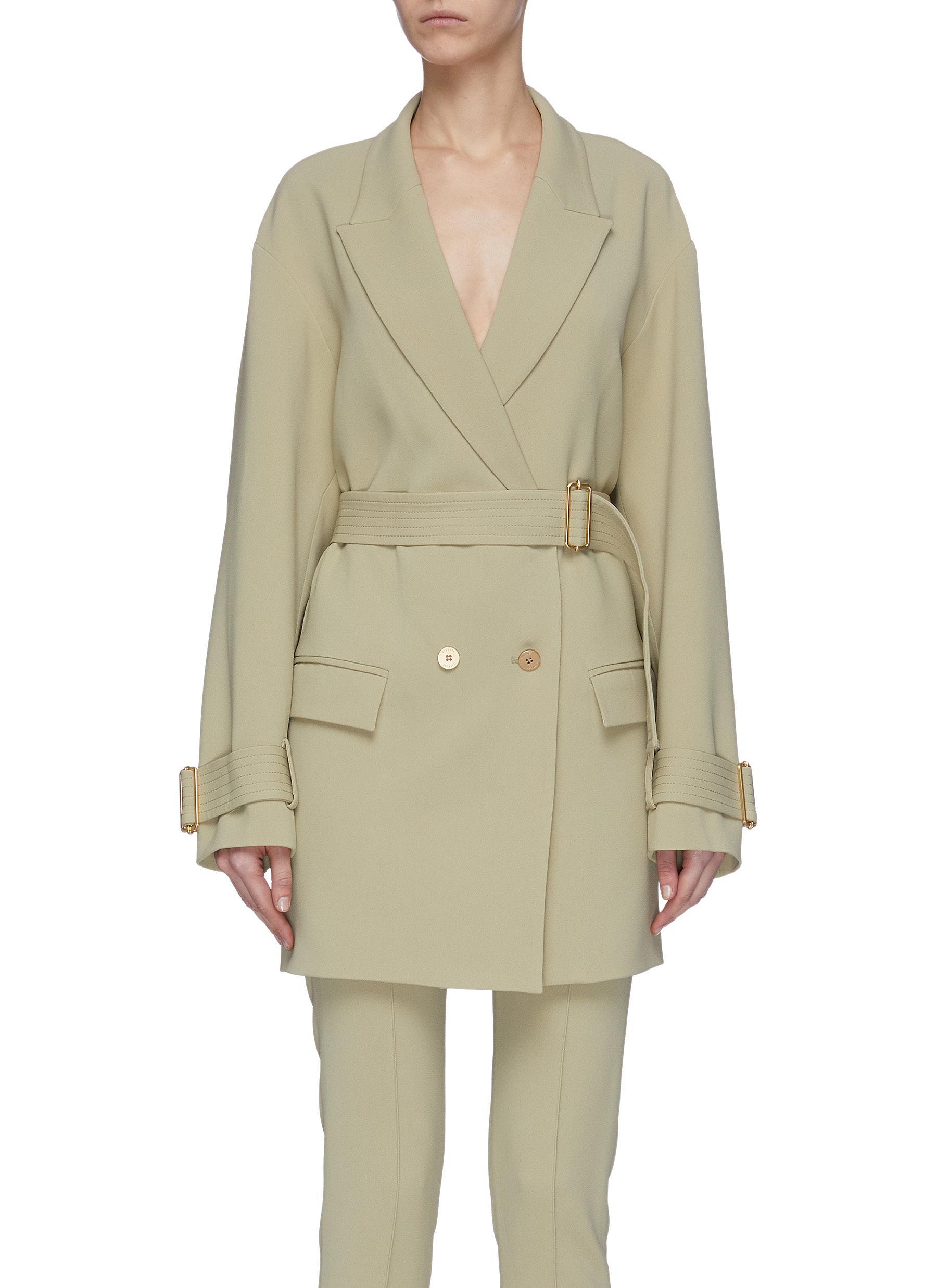 shop Dion Lee 'Cocoon' belted jacket online
