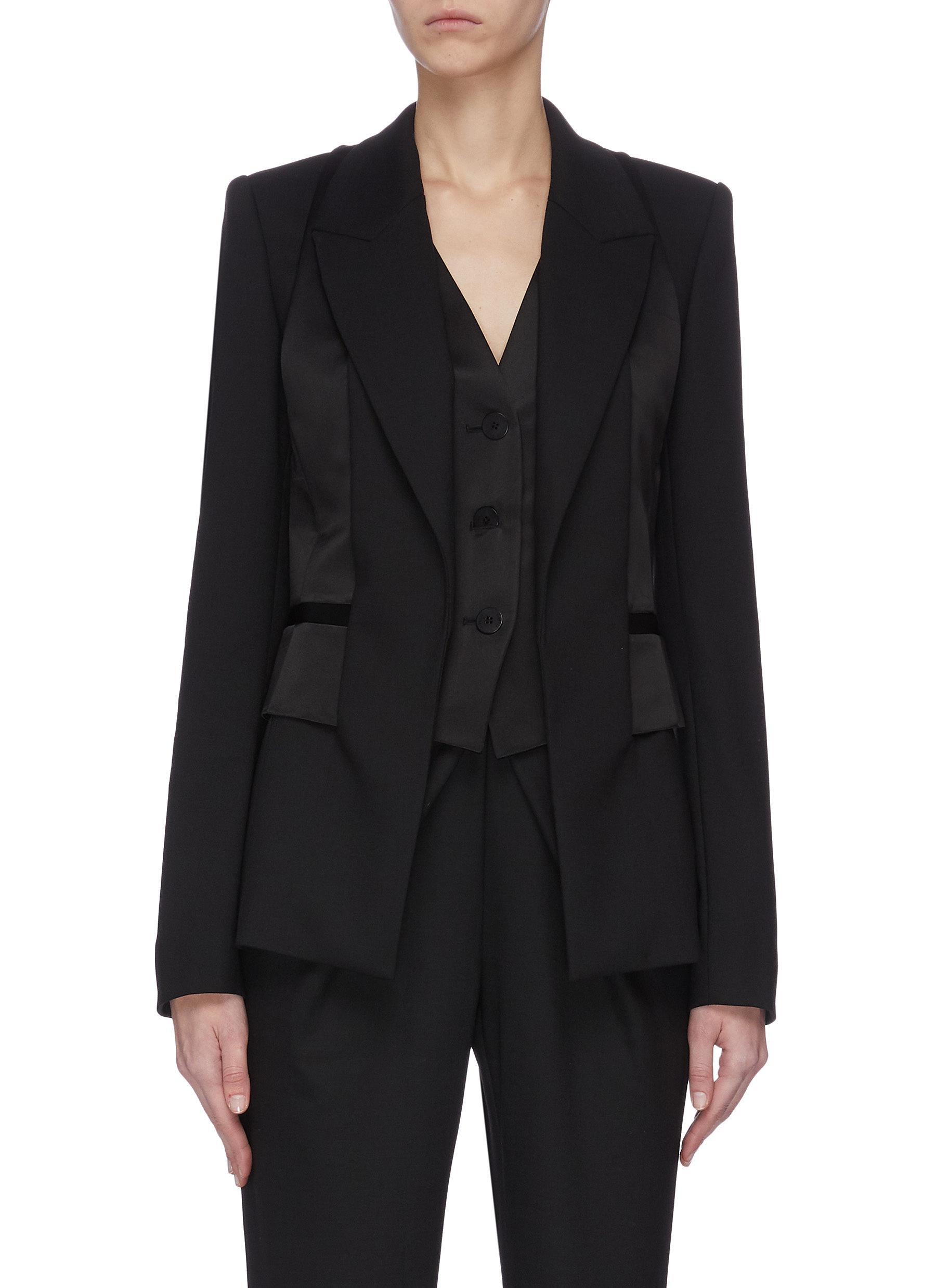 shop Dion Lee Tuxedo vest blazer online