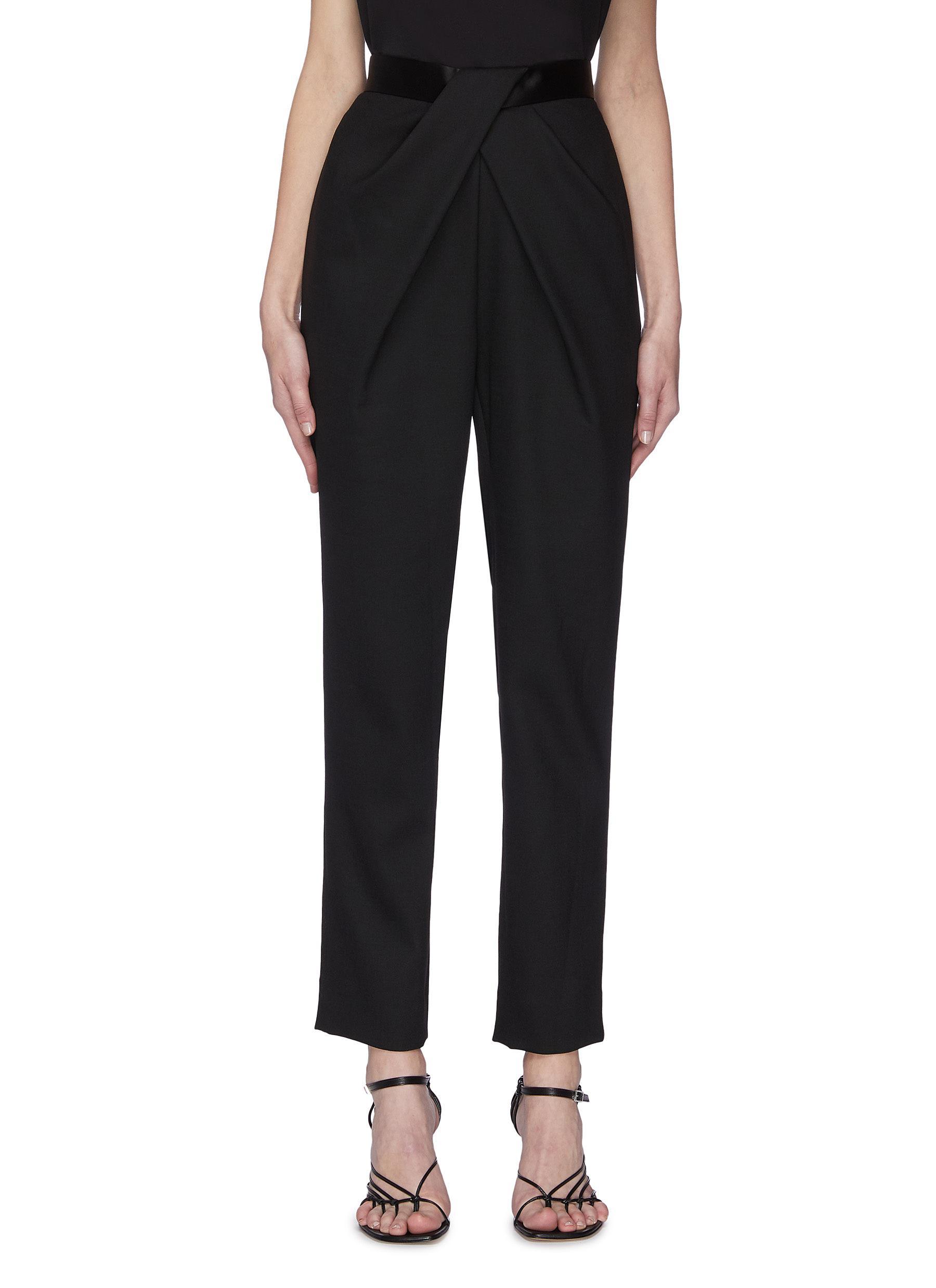 shop Dion Lee Criss cross pleated pants online