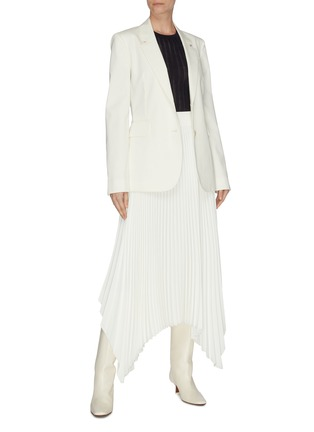 Figure View - Click To Enlarge - GABRIELA HEARST - 'Collins' cashmere-silk blend rib knit top