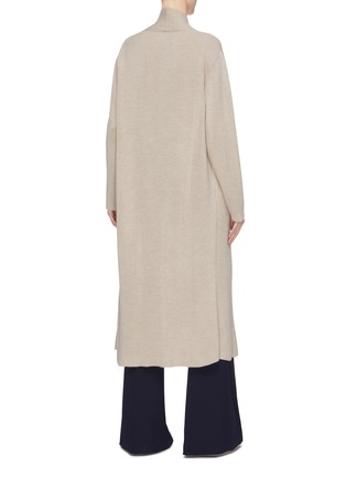 Back View - Click To Enlarge - GABRIELA HEARST - 'Llorona' cashmere open cardigan