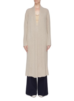 Main View - Click To Enlarge - GABRIELA HEARST - 'Llorona' cashmere open cardigan