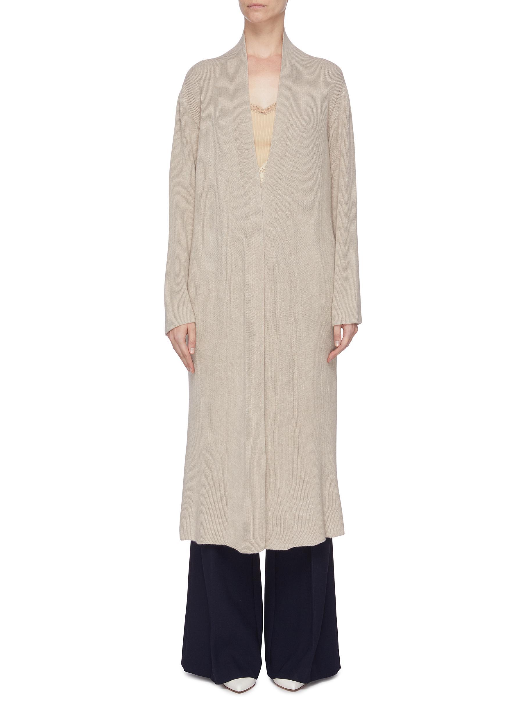 shop Gabriela Hearst 'Llorona' cashmere open cardigan online