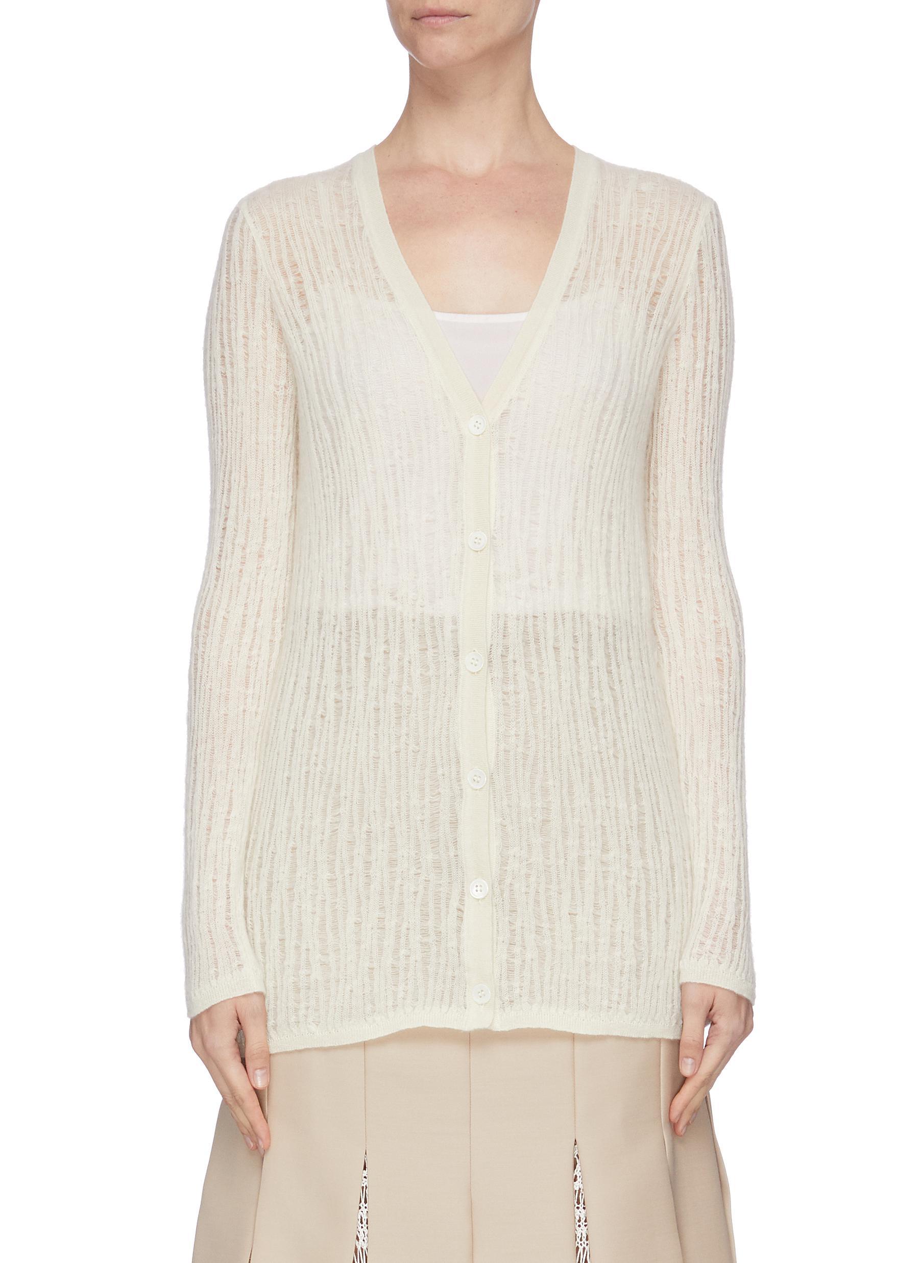 shop Gabriela Hearst 'Cata' cashmere-silk cardigan online