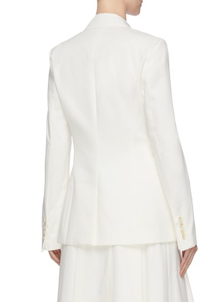 Back View - Click To Enlarge - GABRIELA HEARST - 'Sophie' notched lapel blazer
