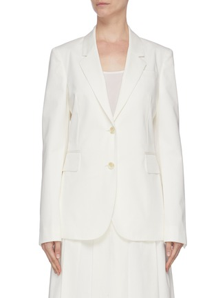 Main View - Click To Enlarge - GABRIELA HEARST - 'Sophie' notched lapel blazer