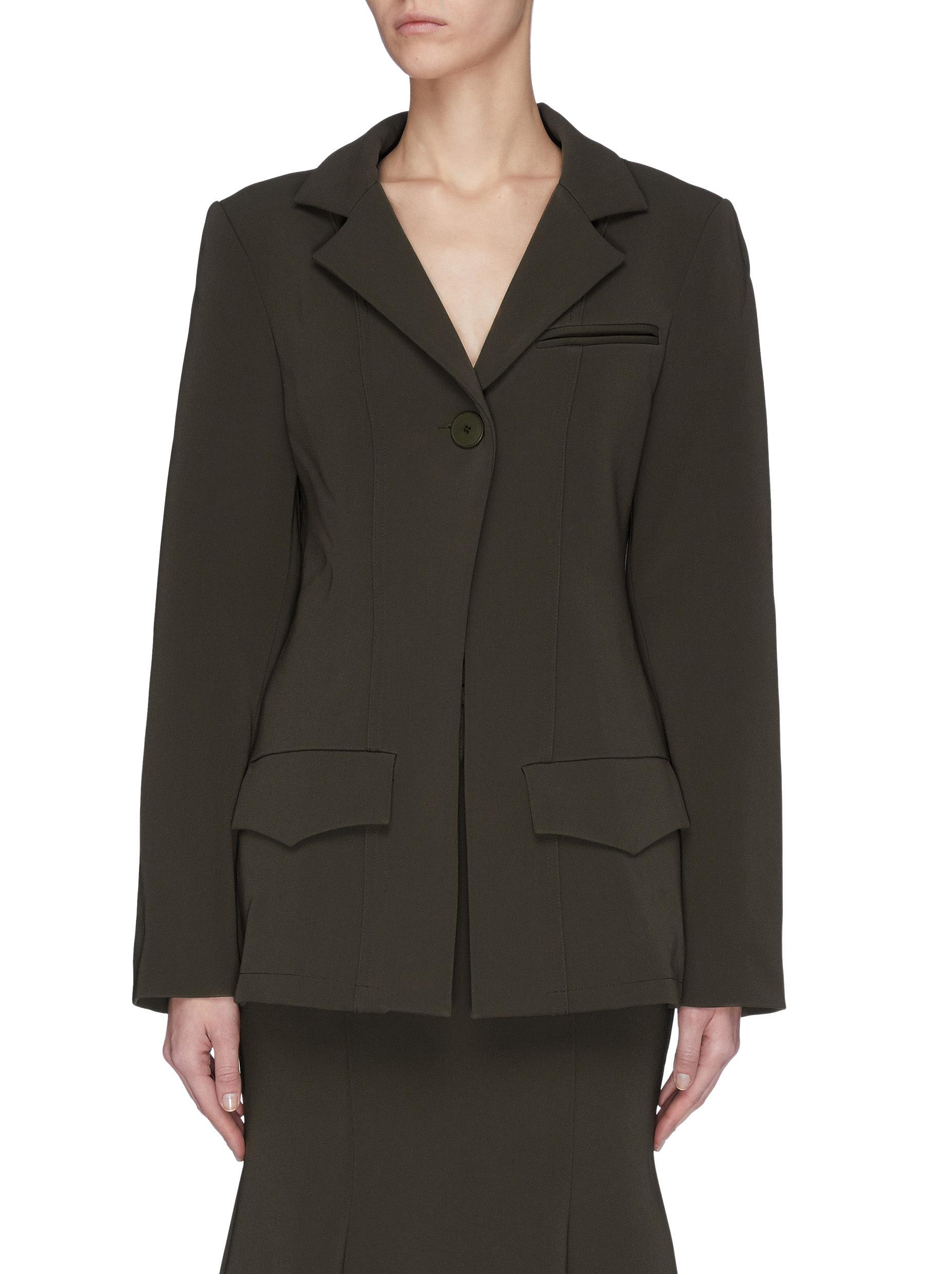 Buy Maggie Marilyn Blazers 'Invested in Me' padded shoulder blazer