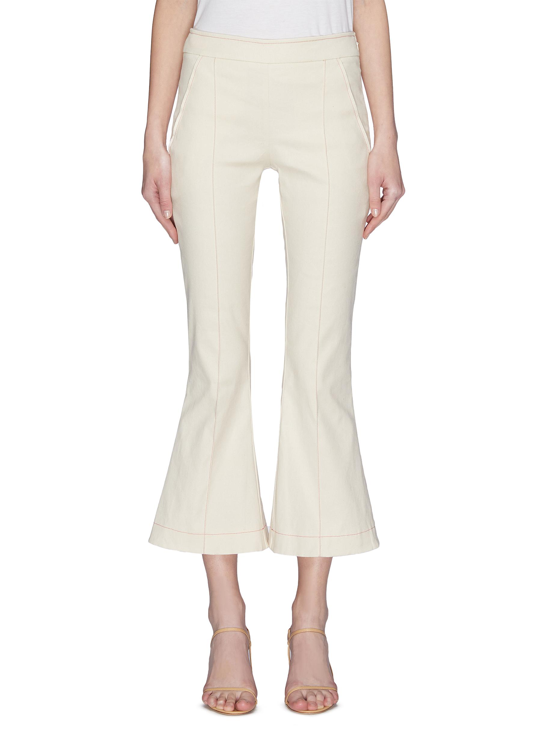 Buy Maggie Marilyn Jeans 'Meet Me at Seven' contrast flared pants