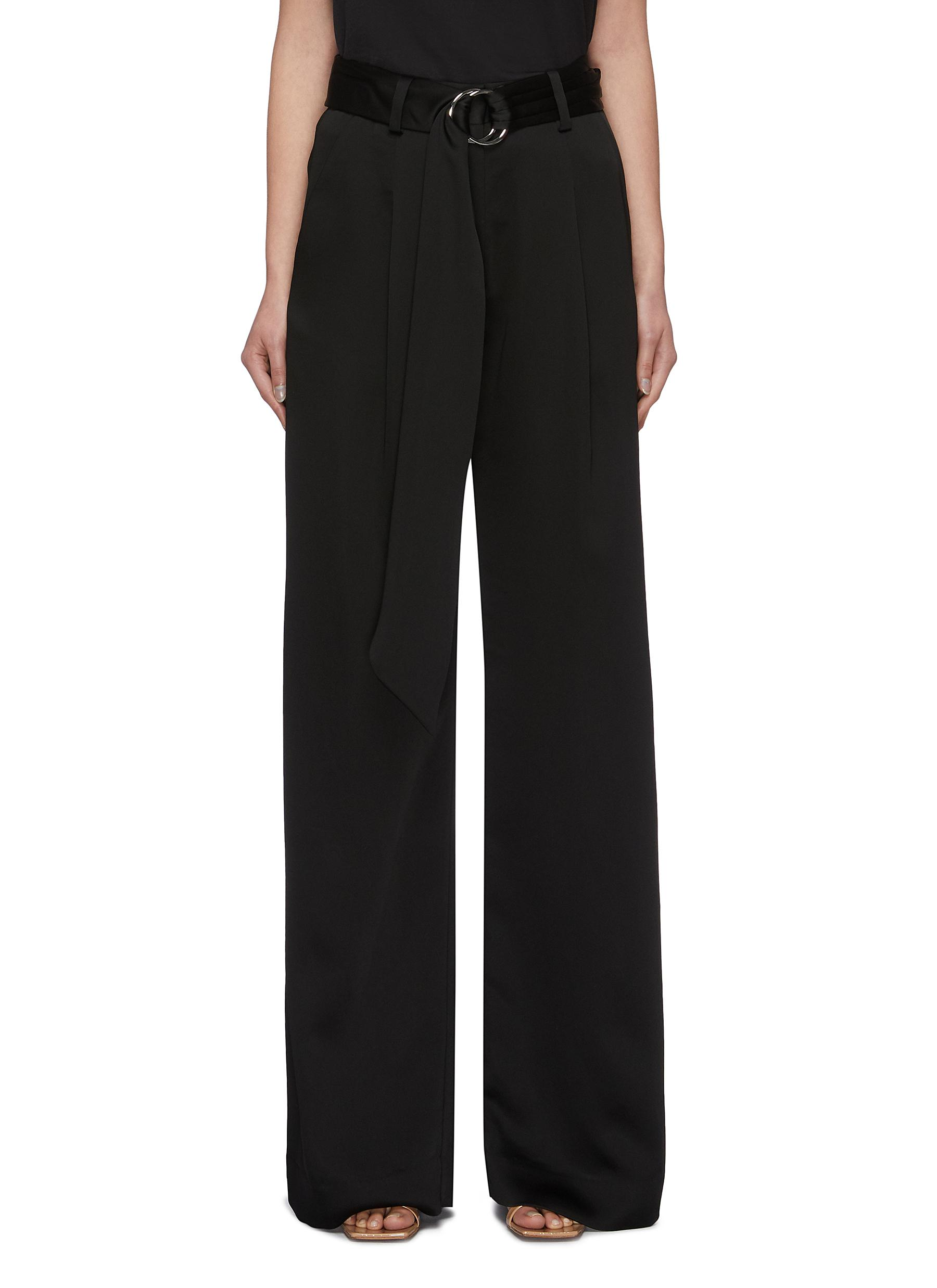 shop Jonathan Simkhai Sash belt wide pants online