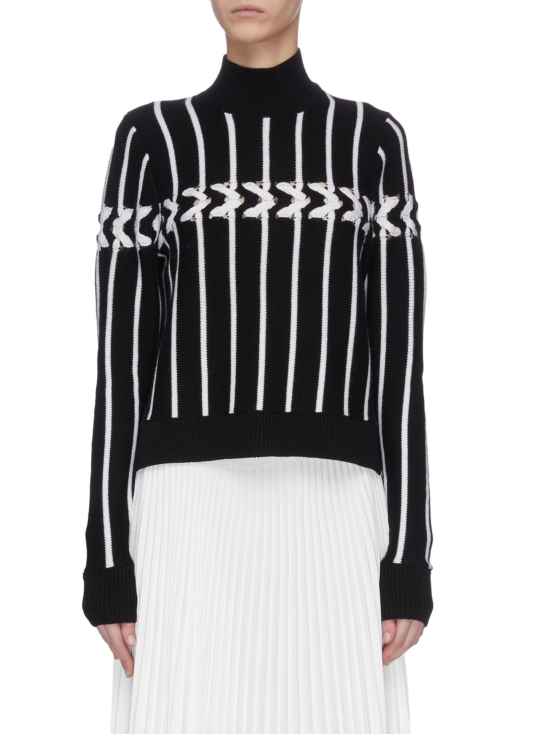 shop Jonathan Simkhai Lofty chain turtleneck sweater online